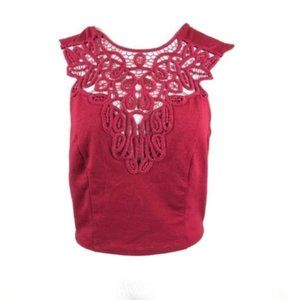 NEW Intimately Free People red crochet crop top